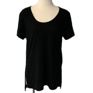 Aritzia - Wilfred Free Scoop Neck High/Low Tee